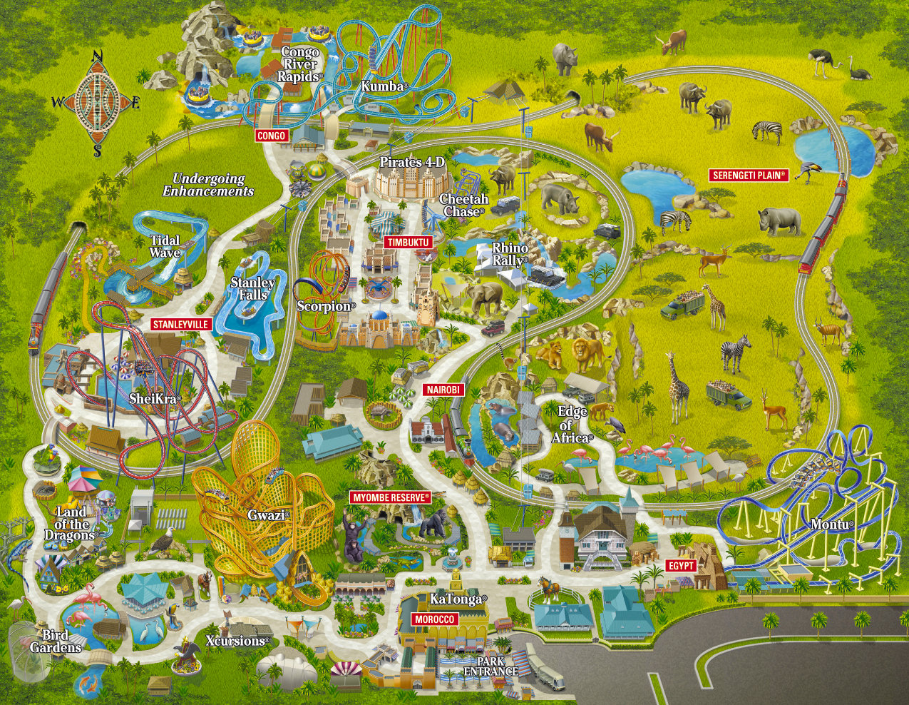 Downloads Discovery Cove Map on